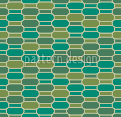 Stylized Crocodile Skin Seamless Vector Pattern Design