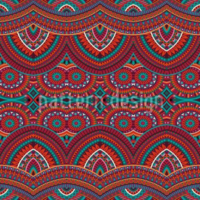 Ethnischer Teppich Nahtloses Vektormuster
