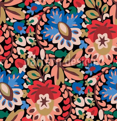 Garten Des Pan Sommer Muster Design