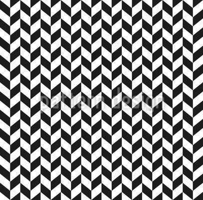 Monochrome Parallelogram Seamless Vector Pattern Design