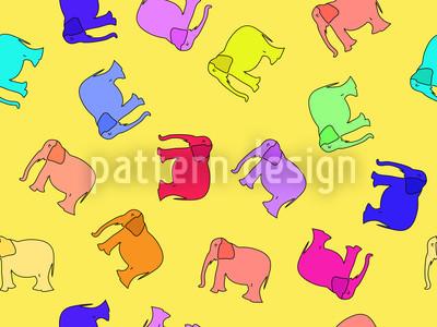 Elefanta Rapportiertes Design