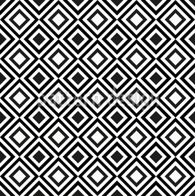 Geometria Rômbica Design de padrão vetorial sem costura
