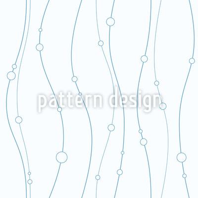 Sanfte Linien Und Kreise Nahtloses Vektormuster