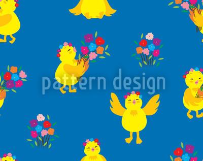 Lucky Chick Vector Design