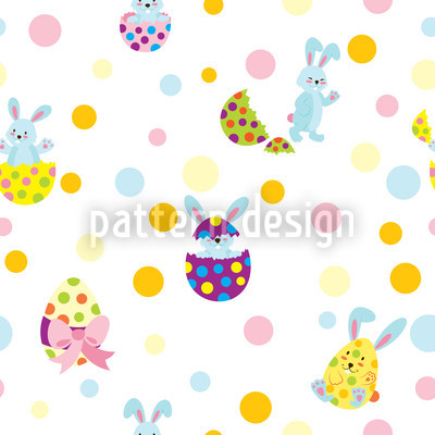 Egg Surprise Repeating Pattern