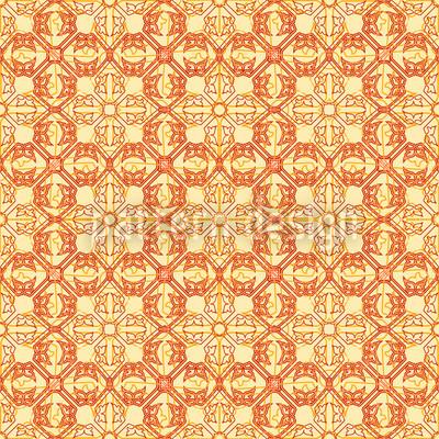 Arabisch Gold Vektor Muster