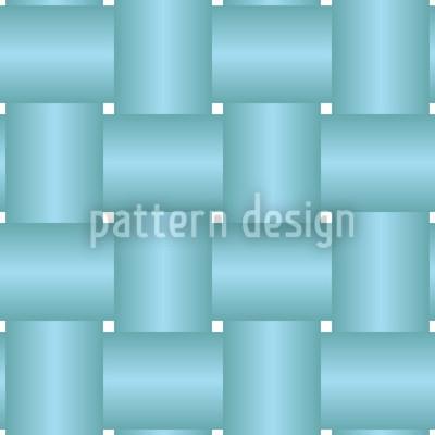 Verflochten Blau Rapportiertes Design