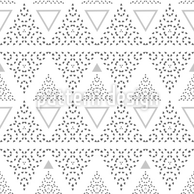 Stripes Of Triangles Seamless Vector Pattern Design
