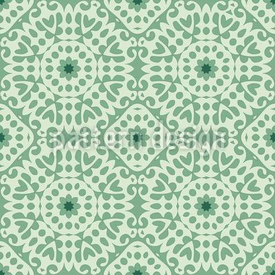 Center Of Harmony Seamless Vector Pattern Design