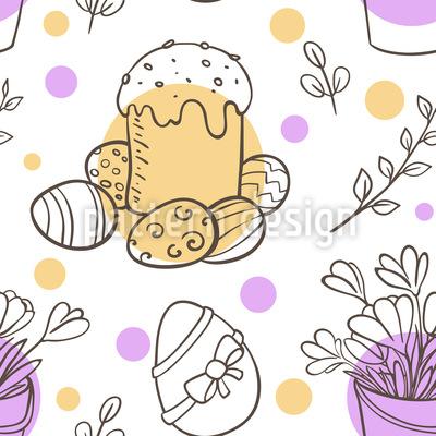 Easter Celebration Seamless Vector Pattern Design