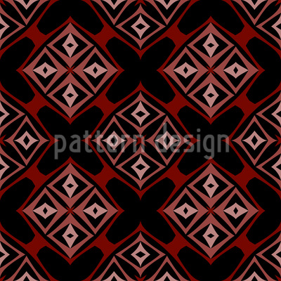 Rhombic Forms Seamless Vector Pattern Design