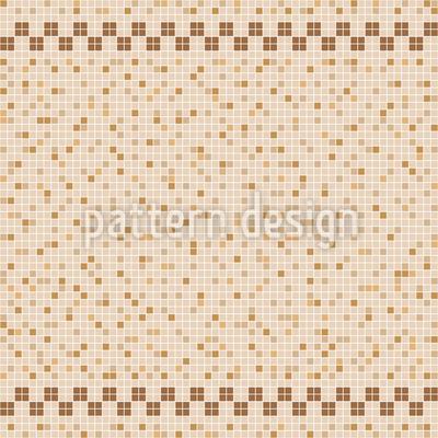 Keramik Fliesen Mosaik Nahtloses Vektormuster