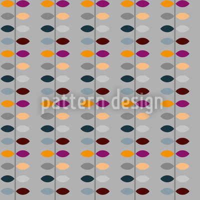 Walk A Line Seamless Vector Pattern Design