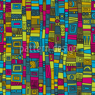 Vero Color Seamless Vector Pattern Design