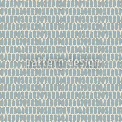 Scale Skin Blue Repeating Pattern