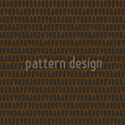 Scale Skin Brown Seamless Vector Pattern Design
