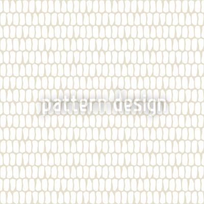 Schuppenkleid Weiß Muster Design