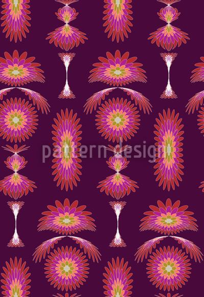 Boa Purple Repeat Pattern