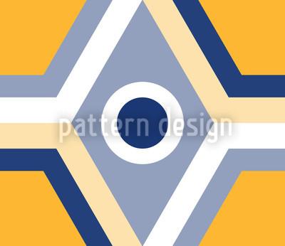 Geometro Gelb Vector Pattern
