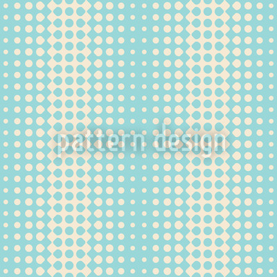 Wave Beach Seamless Vector Pattern