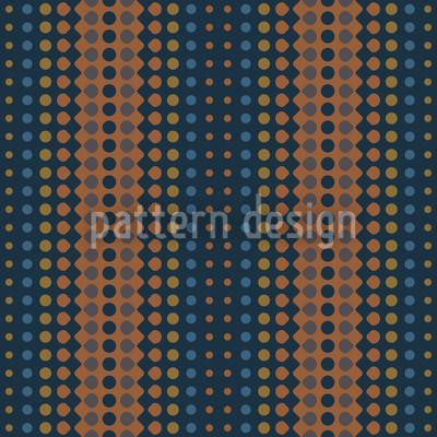 Wave Copper Rapportiertes Design