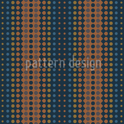 Waves Copper Repeating Pattern