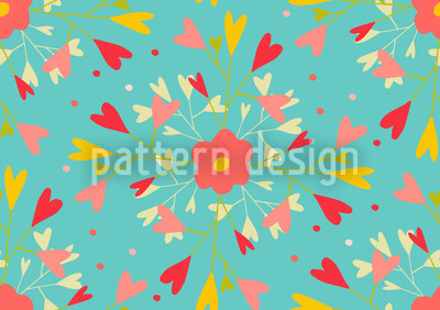 She Loves Me Pattern Design