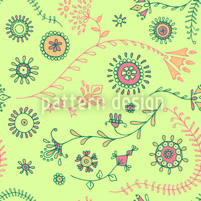 Mellow Verve Repeating Pattern