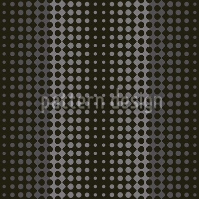 Wave Nero Seamless Vector Pattern Design