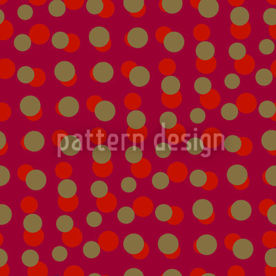 Dotty Red Seamless Vector Pattern Design