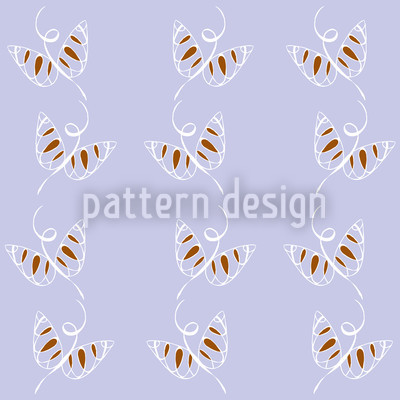 Lockende Schmetterlinge Nahtloses Vektormuster