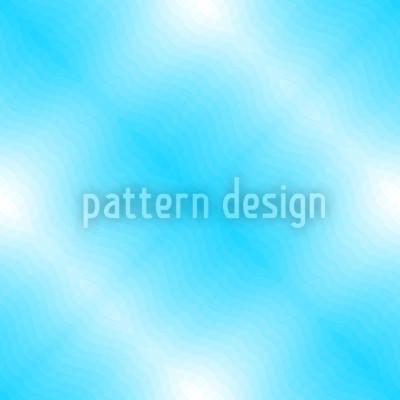 Blaue Wasseroberfläche Nahtloses Vektor Muster