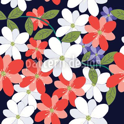 Flower Petals Repeating Pattern