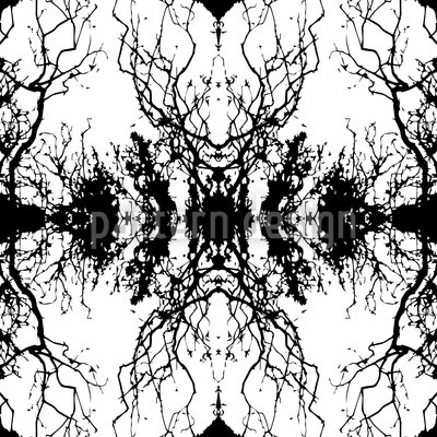 Dunkler Spiegel Vektor Design