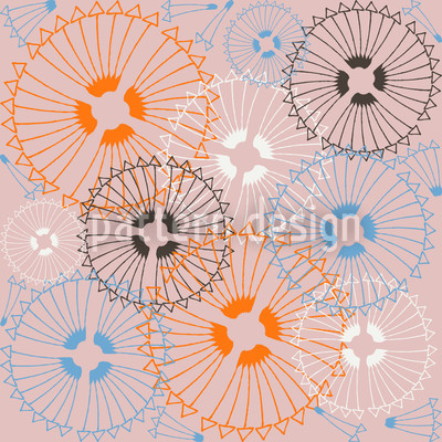 Amors Arrows I Seamless Vector Pattern