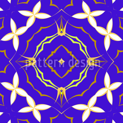 Princess Of Flowers Vector Ornament