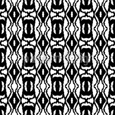 Papa Africa Seamless Vector Pattern Design