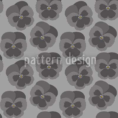 Violetta Graphit Nahtloses Muster