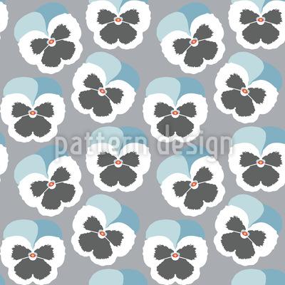 Violetta Blau Nahtloses Vektor Muster