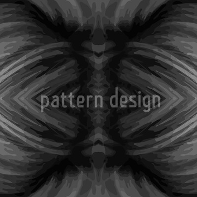 Voodoo Cinzento Design de padrão vetorial sem costura