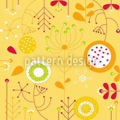 Liljana Giallo Seamless Pattern