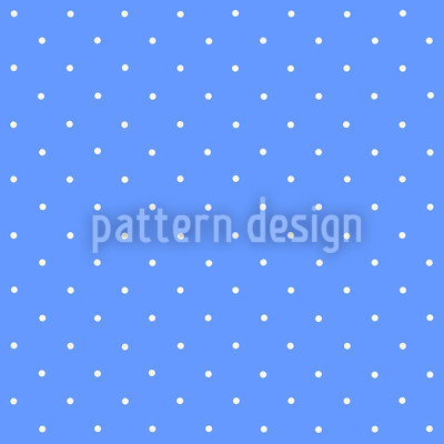 Dots On Blue Repeating Pattern