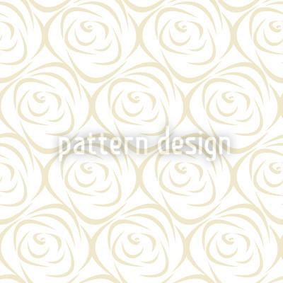 Rosabella Beige Vektor Muster