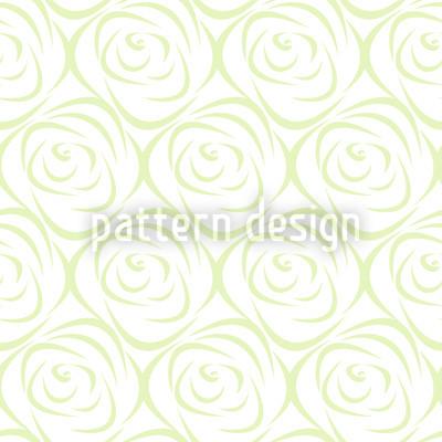 Росабелла Грин Бесшовный дизайн векторных узоров
