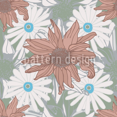 Expedition Echinacea Repeat Pattern
