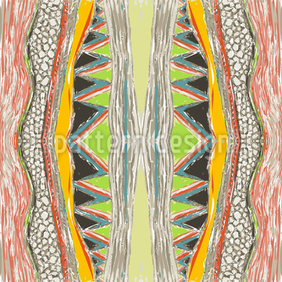 Massai Color Pattern Design