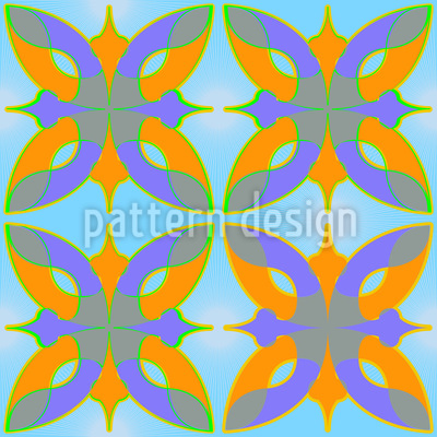 Dschingis Khan Seamless Vector Pattern