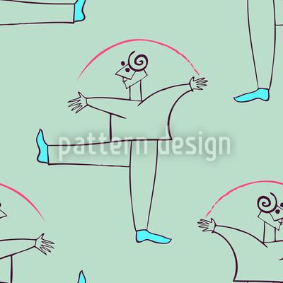 Danza Verde Rapportiertes Design