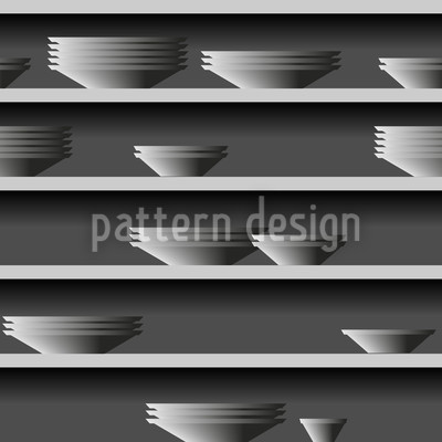 Rim Of Plate Repeat Pattern