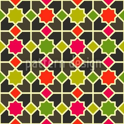 Morocco Color Pattern Design